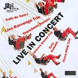 Live in Concert CD featuring the Steve Klink Trio